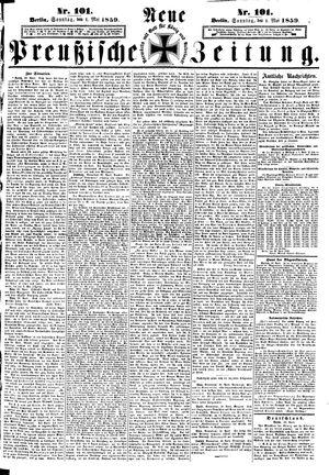 Neue preußische Zeitung vom 01.05.1859