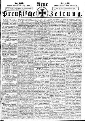 Neue preußische Zeitung vom 08.05.1859