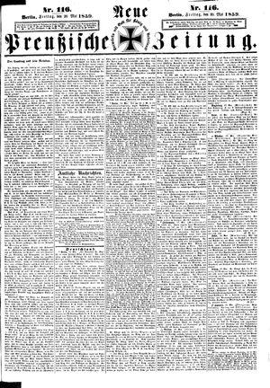 Neue preußische Zeitung vom 20.05.1859