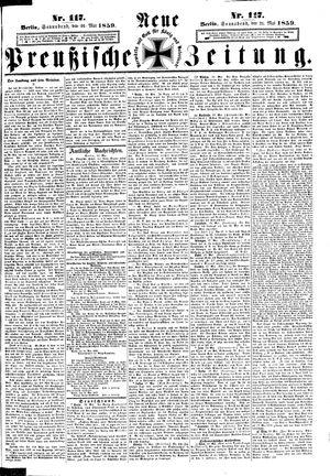Neue preußische Zeitung vom 21.05.1859