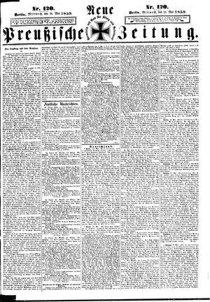 Neue preußische Zeitung vom 25.05.1859