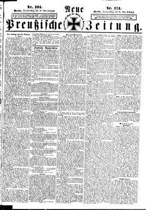 Neue preußische Zeitung vom 26.05.1859
