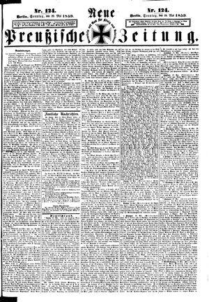 Neue preußische Zeitung vom 29.05.1859