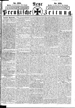 Neue preußische Zeitung vom 31.05.1859