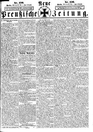 Neue preußische Zeitung vom 01.06.1859