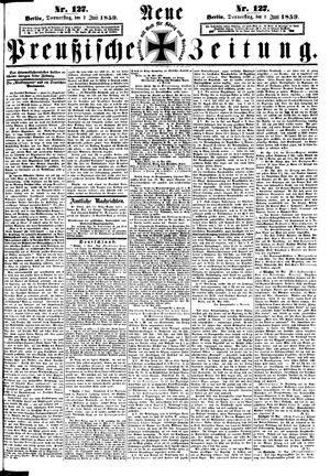 Neue preußische Zeitung vom 02.06.1859