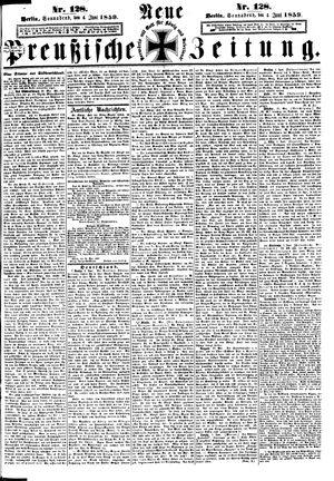 Neue preußische Zeitung vom 04.06.1859