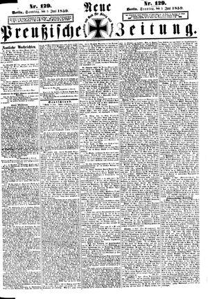 Neue preußische Zeitung vom 05.06.1859