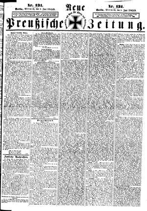 Neue preußische Zeitung vom 08.06.1859
