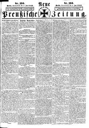 Neue preußische Zeitung on Jun 11, 1859