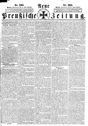 Neue preußische Zeitung vom 12.06.1859