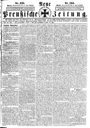 Neue preußische Zeitung vom 25.06.1859