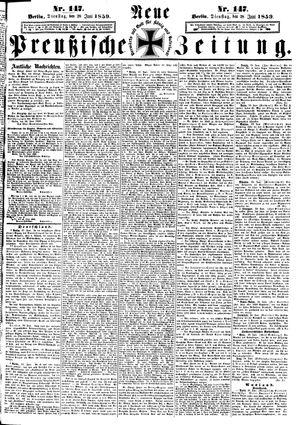 Neue preußische Zeitung vom 28.06.1859