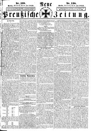 Neue preußische Zeitung vom 29.06.1859