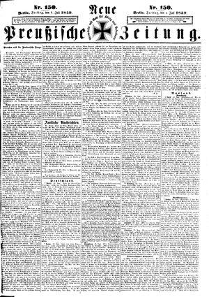 Neue preußische Zeitung vom 01.07.1859