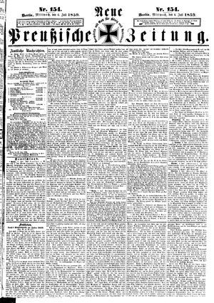 Neue preußische Zeitung vom 06.07.1859