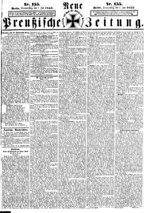 Neue preußische Zeitung vom 07.07.1859
