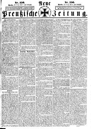 Neue preußische Zeitung vom 08.07.1859