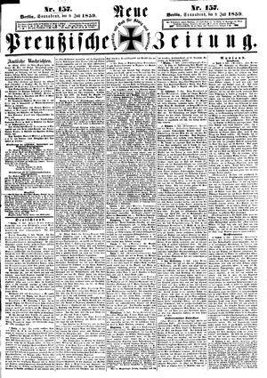 Neue preußische Zeitung vom 09.07.1859