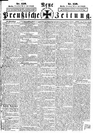 Neue preußische Zeitung vom 12.07.1859