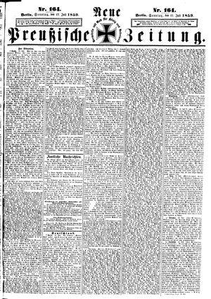 Neue preußische Zeitung vom 17.07.1859
