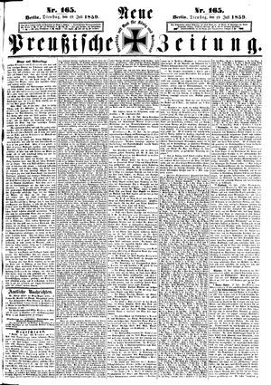 Neue preußische Zeitung vom 19.07.1859