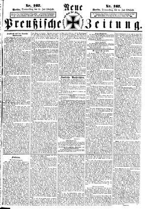 Neue preußische Zeitung vom 21.07.1859