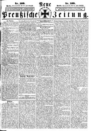 Neue preußische Zeitung on Jul 23, 1859
