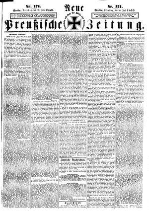 Neue preußische Zeitung on Jul 26, 1859