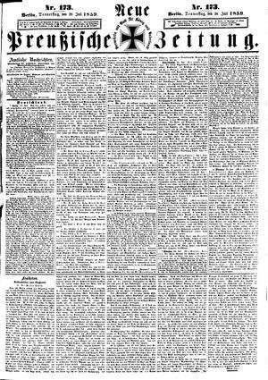 Neue preußische Zeitung vom 28.07.1859