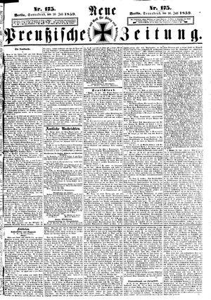 Neue preußische Zeitung vom 30.07.1859