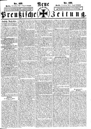 Neue preußische Zeitung vom 02.08.1859