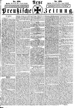 Neue preußische Zeitung vom 03.08.1859