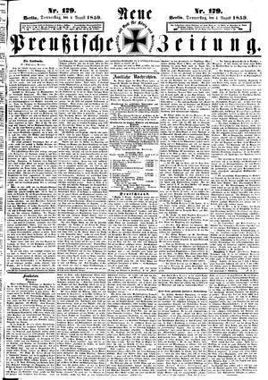 Neue preußische Zeitung vom 04.08.1859
