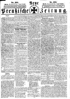 Neue preußische Zeitung vom 06.08.1859