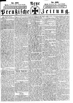 Neue preußische Zeitung vom 07.08.1859