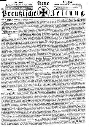 Neue preußische Zeitung vom 11.08.1859