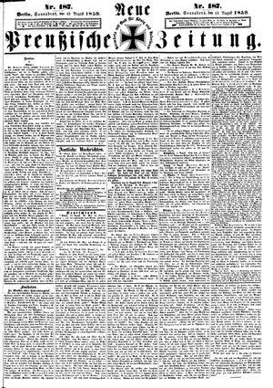 Neue preußische Zeitung vom 13.08.1859