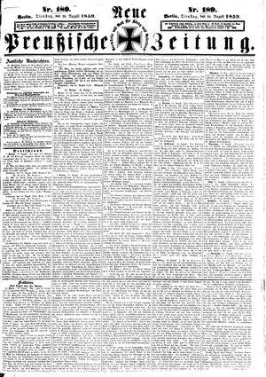 Neue preußische Zeitung vom 16.08.1859