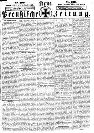 Neue preußische Zeitung vom 17.08.1859