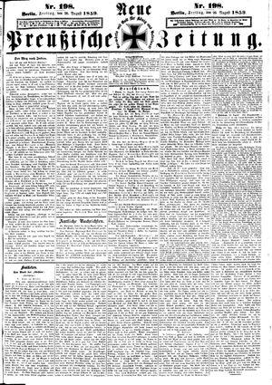 Neue preußische Zeitung vom 26.08.1859