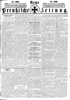 Neue preußische Zeitung vom 27.08.1859