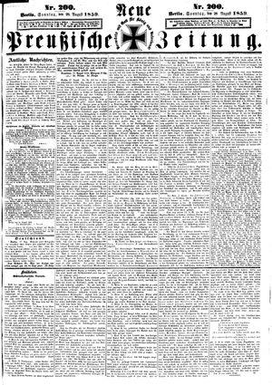 Neue preußische Zeitung vom 28.08.1859