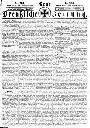 Neue preußische Zeitung vom 02.09.1859