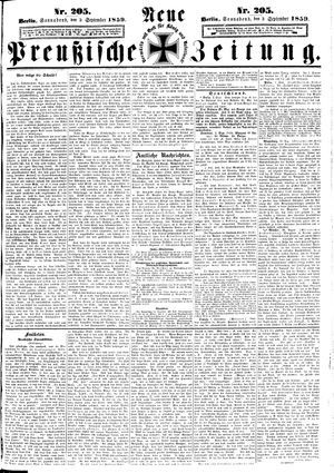 Neue preußische Zeitung vom 03.09.1859
