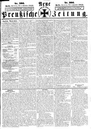 Neue preußische Zeitung vom 04.09.1859