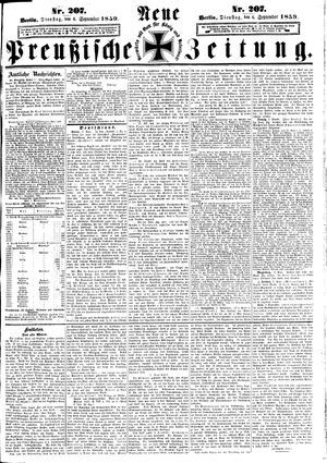 Neue preußische Zeitung vom 06.09.1859