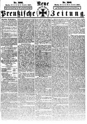 Neue preußische Zeitung vom 18.12.1867