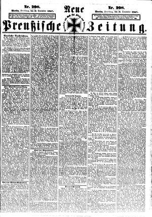 Neue preußische Zeitung vom 20.12.1867