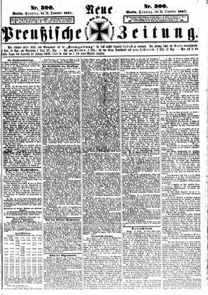 Neue preußische Zeitung vom 22.12.1867